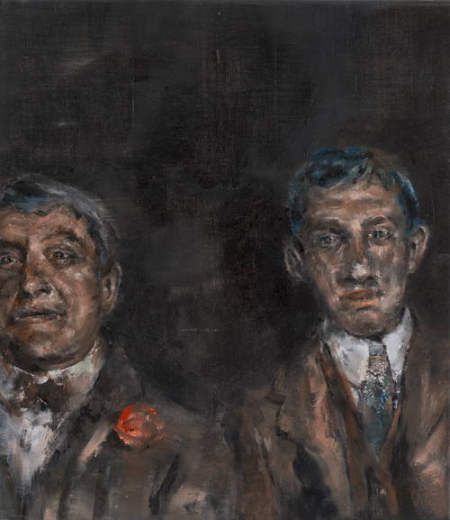 Brothers | oil on canvas | 50 X 40 cm