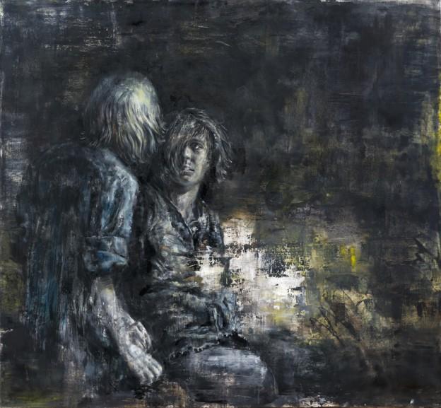 Couple 1 | oil on canvas | 120x130cm